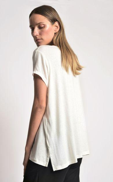 blusa-malha-ampla-off-white-tamanho-PP-Costas