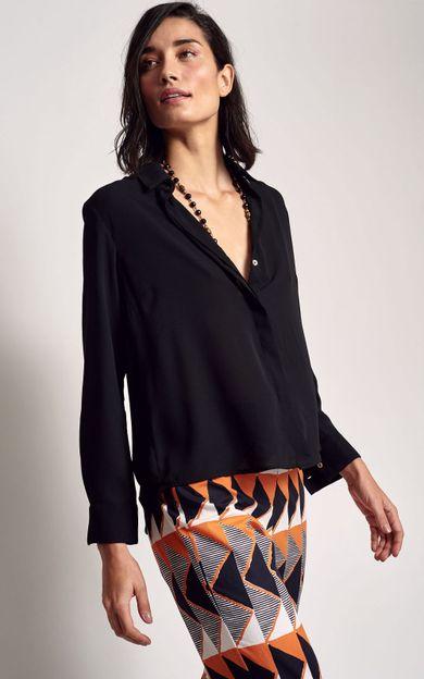 camisa-georgea-preto-tamanho-P-Frente