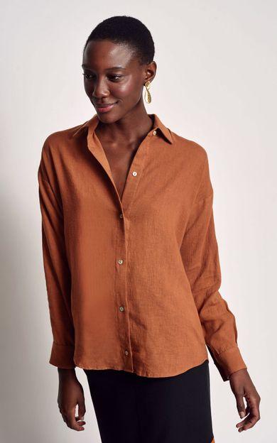 camisa-linho-basic-cobre-tamanho-PP-Costas