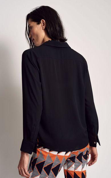 camisa-georgea-preto-tamanho-P-Costas