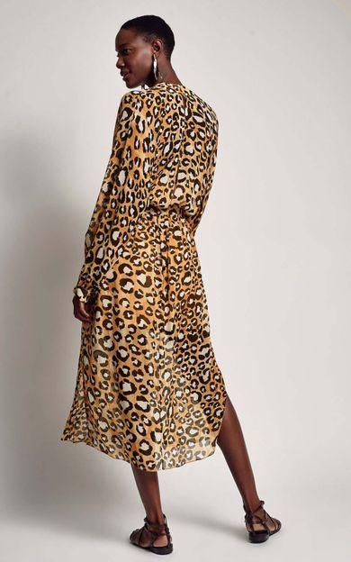 5db6f2a00 ... vestido-pala-midi-jaguar-tamanho-P-Costas