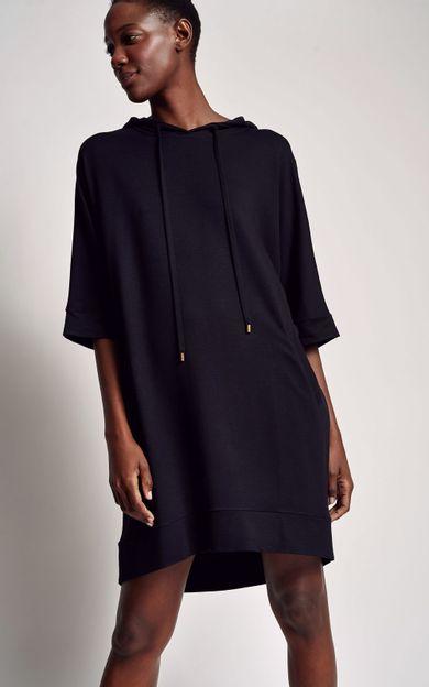 vestido-moletinho-preto-tamanho-PP-Frente