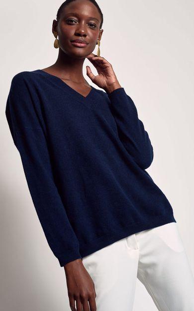 pull-cashmere-deep-blue-tamanho-M-Frente