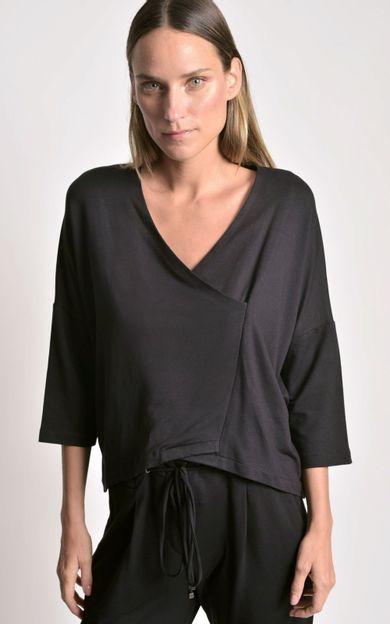 blusa-transpasse-malha-preto-tamanho-PP-Frente