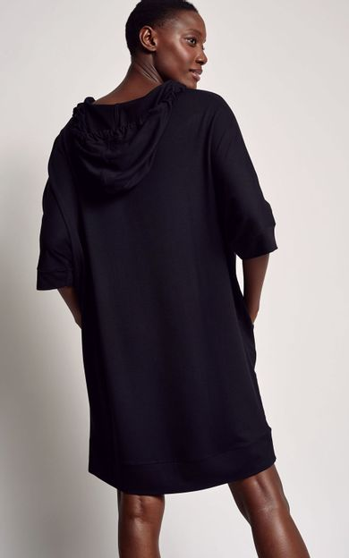 vestido-moletinho-preto-tamanho-PP-Costas