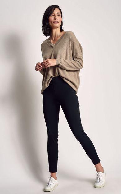 calca-legging-montaria-preto-tamanho-P-Frente