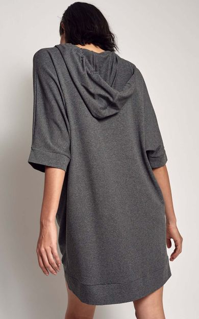 vestido-moletinho-capuz-mescla-tamanho-P-Costas