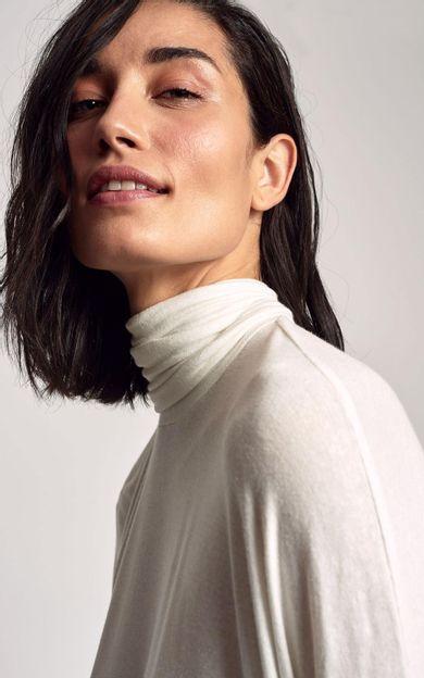 blusa-ampla-gola-alta-off-white-tamanho-M-Costas