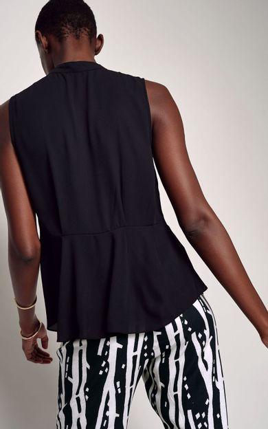 blusa-detalhe-rolote-preto-tamanho-P-Costas