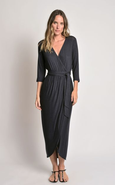 vestido-transpasse-malha-preto-tamanho-PP-Frente