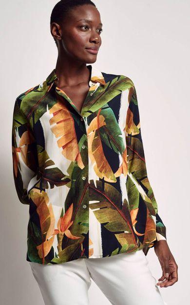 camisa-classica-estampada-bardot-tamanho-PP-Frente