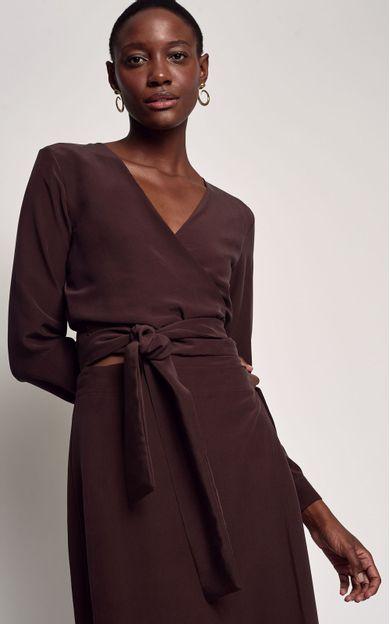 blusa-transpasse-chocolate-tamanho-PP-Frente