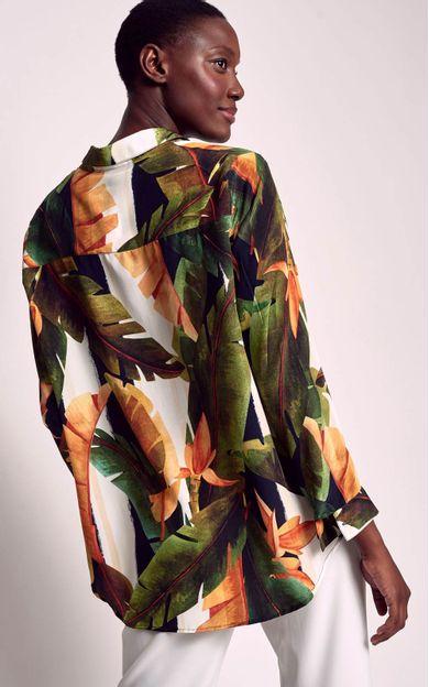 camisa-classica-estampada-bardot-tamanho-P-Costas