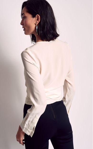 blusa-transpasse-off-white-tamanho-PP-Costas
