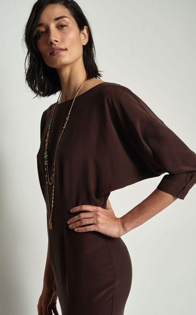 vestido-manga-morcego-chocolate-tamanho-PP-Frente2