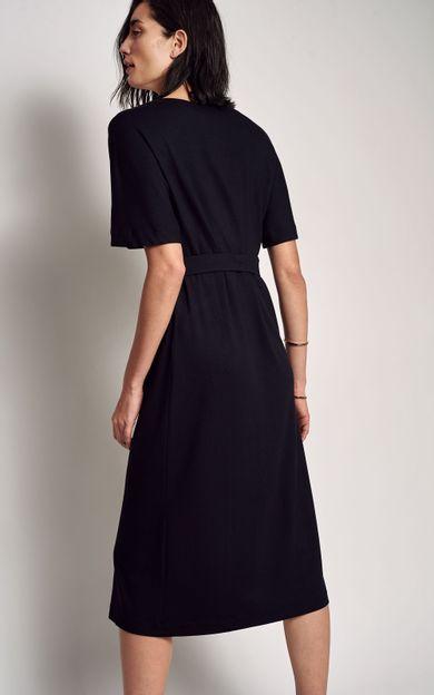 f16230b62 ... vestido-moletinho-pesponto-preto-tamanho-PP-Costas