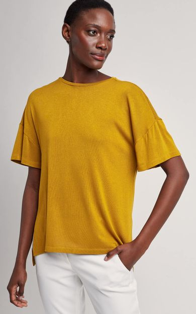 blusa-ampla-malha-tricot-sandalo-tamanho-PP-Frente