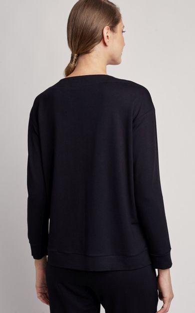 tunica-moletinho-preto-tamanho-P-Costas