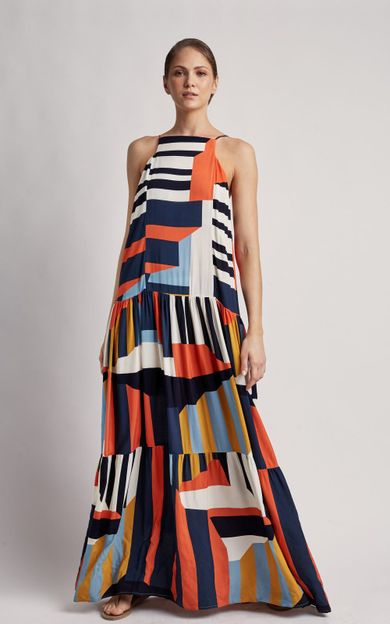 vestido-longo-alca-fina-mexico-tamanho-M-Frente