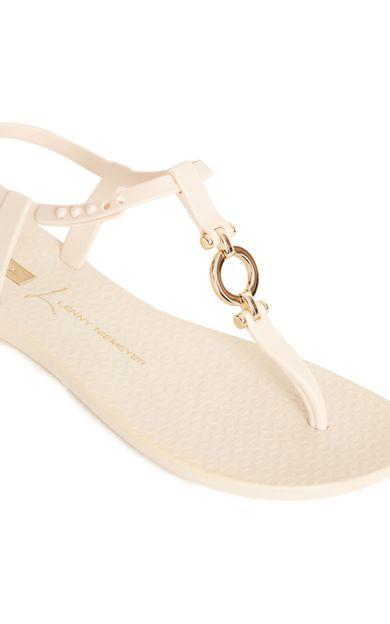 sandalia-elo-off-white-tamanho-34-Costas