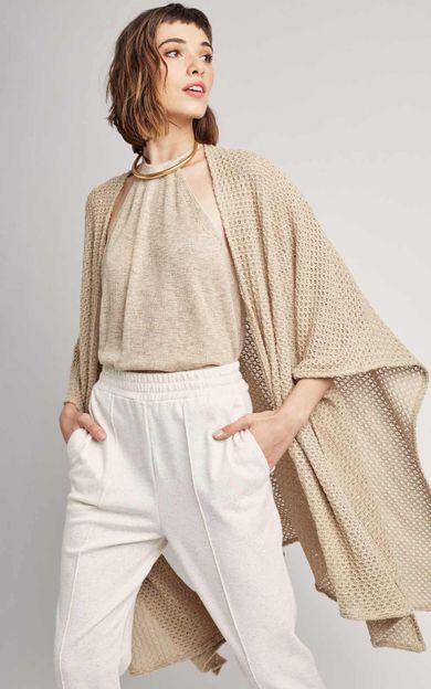 body-tricot-areia-tamanho-M-Frente