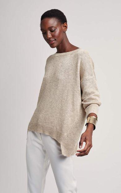 pull-tricot-areia-tamanho-P-Frente