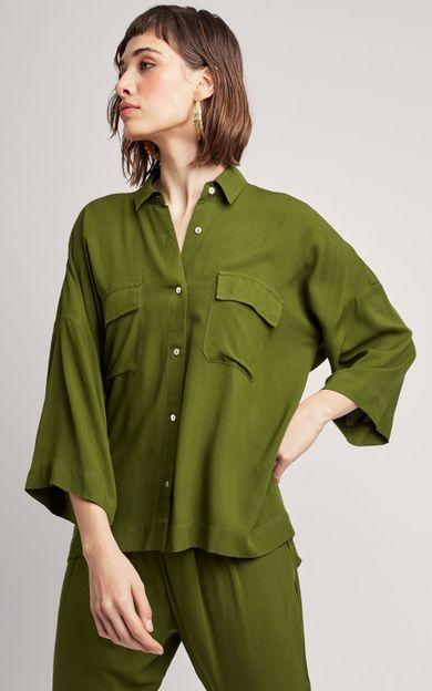 camisa-militar-bolso-mata-tamanho-P-Frente
