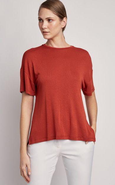 blusa-ampla-malha-tricot-canela-tamanho-PP-Frente