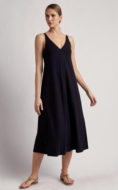 vestido-alca-pesponto-preto-tamanho-PP-Frente