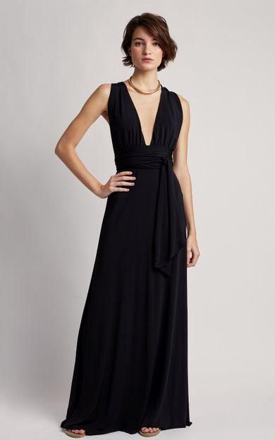 vestido-longo-chic-premium-preto-tamanho-PP-Frente