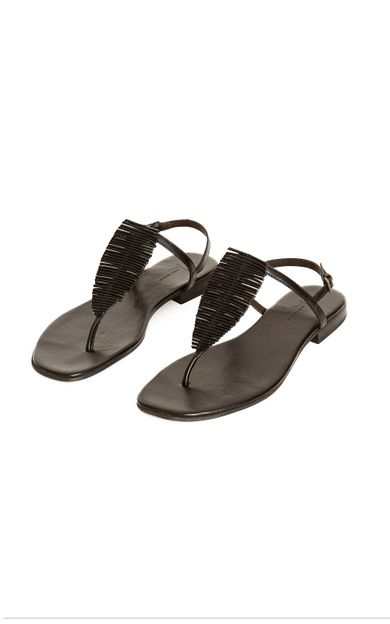 sandalia-folha-preto-tamanho-35-Frente