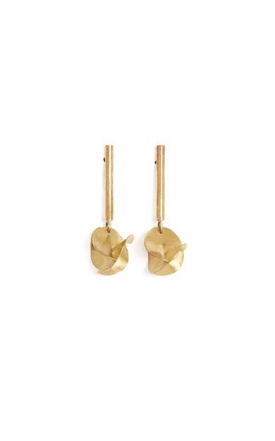 brinco-assimetrico-ouro-tamanho-U-Frente