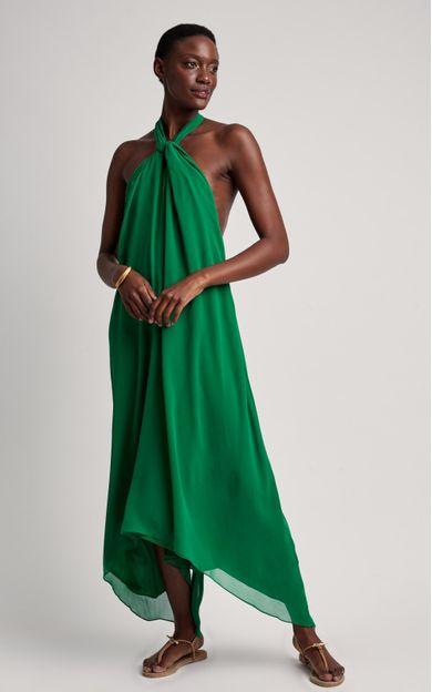 vestido-amplo-amarracoes-premium-verde-paraiso-tamanho-G-Frente
