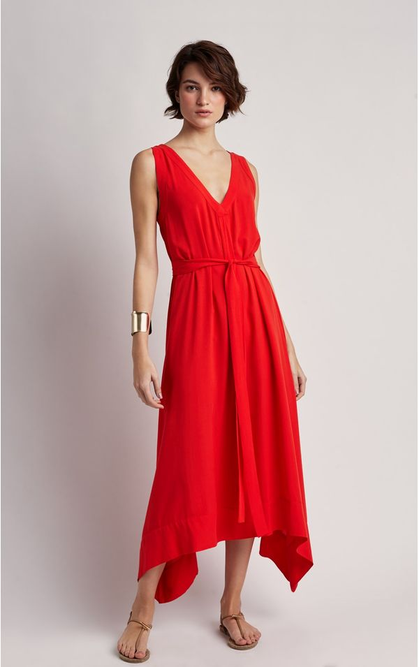 vestido-viscose-decote-liso-caravela-tamanho-PP-Frente