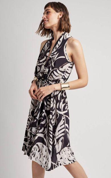 vestido-seda-transpasse-premium-tropico-tamanho-P-Frente