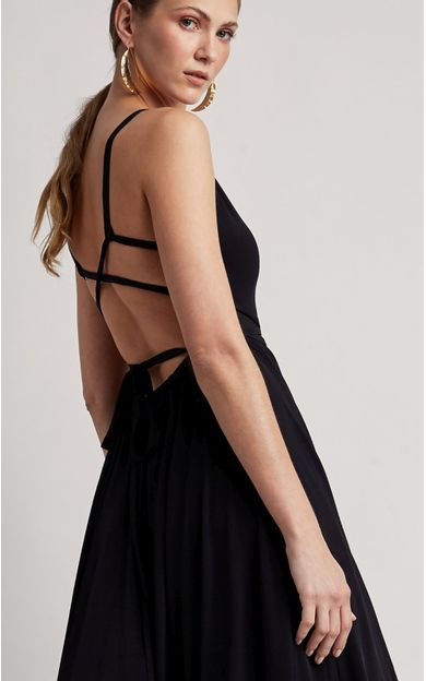 vestido-longo-amarracao-premium-preto-tamanho-P-Costas