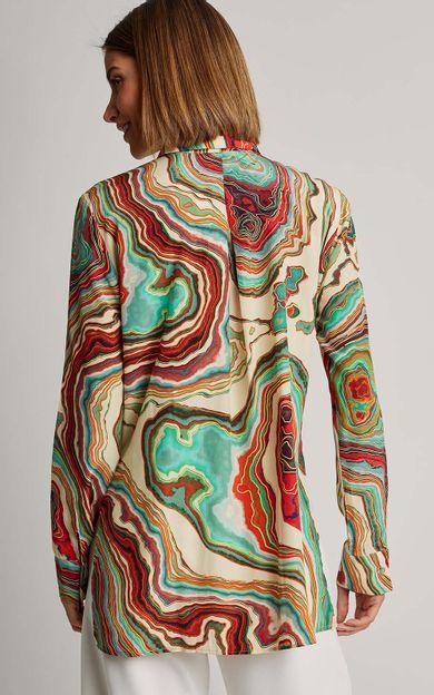 camisa-classica-seda-estampada-premium-mineral-tamanho-P-Costas