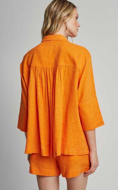 camisa-solta-quadrada-tangerina-tamanho-PP-Costas