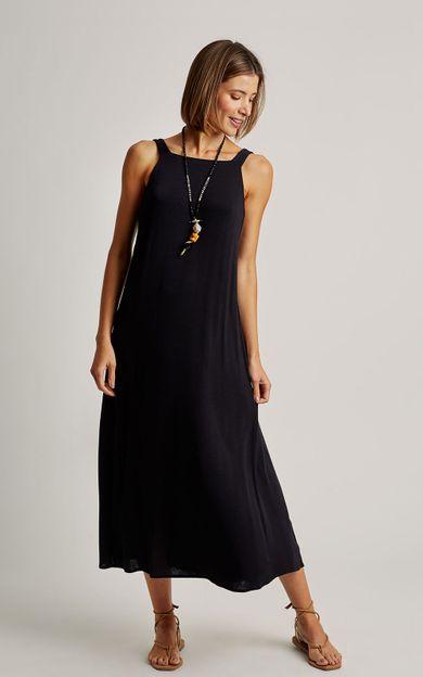 vestido-malha-no-costas-preto-tamanho-G-Frente