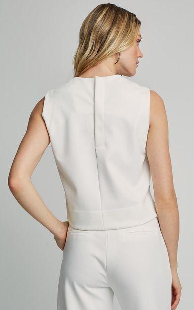 blusa-malha-cropped-off-white-tamanho-PP-Costas