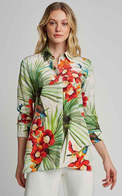 camisa-classica-seda-estampada-premium-mapa-tamanho-PP-Frente