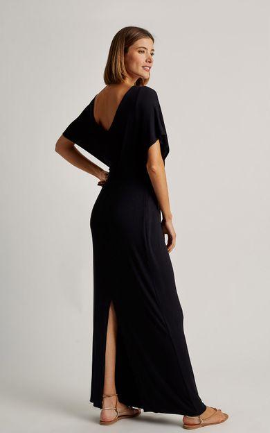 vestido-detalhe-franzido-preto-tamanho-PP-Costas