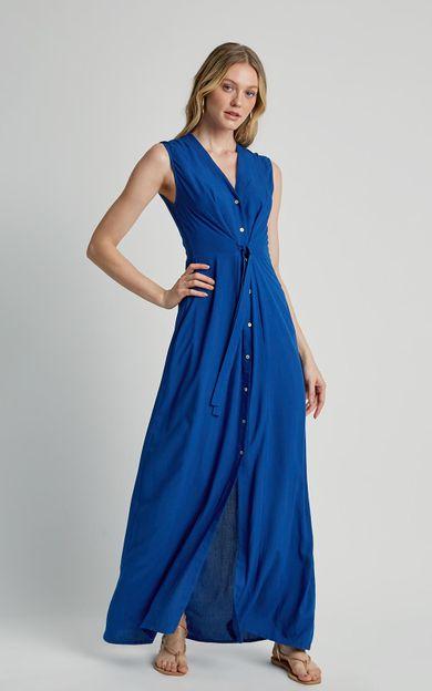 vestido-amarracao-frente-azul-real-tamanho-PP-Frente