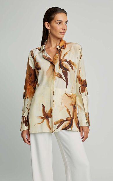 camisa-punho-seda-premium-aquarela-caramelo-tamanho-P-Frente