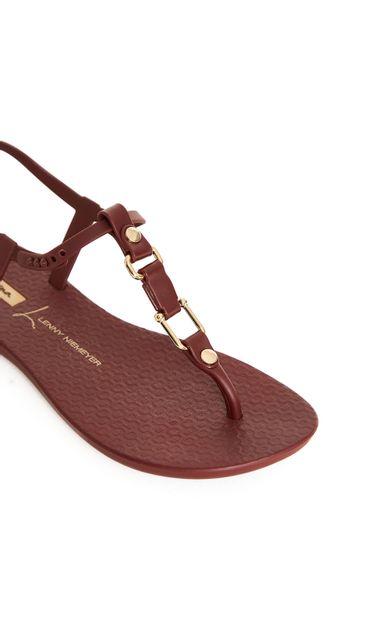 sandalia-mosquetao-vinho-tamanho-34-Costas