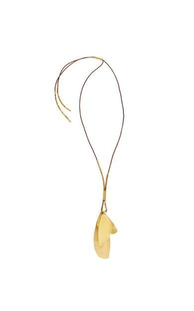 colar-petala-resina-ouro-tamanho-U-Frente