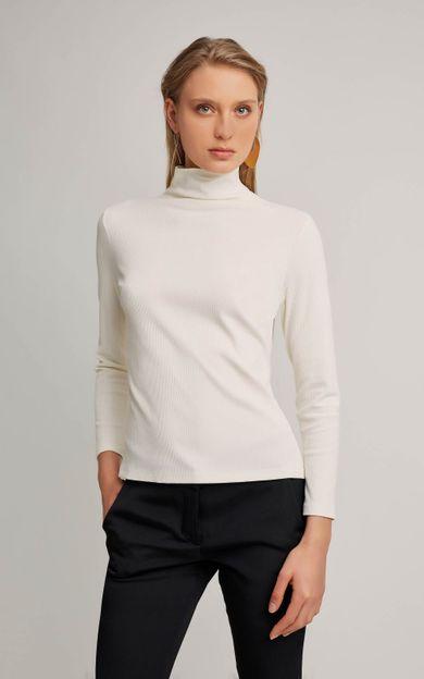 blusa-gola-alta-rib-off-white-tamanho-M-Frente
