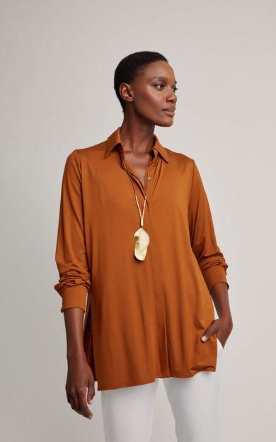 camisa-malha-modal-cobre-tamanho-PP-Frente