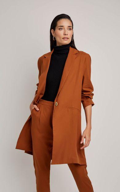 blazer-bolso-slim-cobre-tamanho-38-Frente