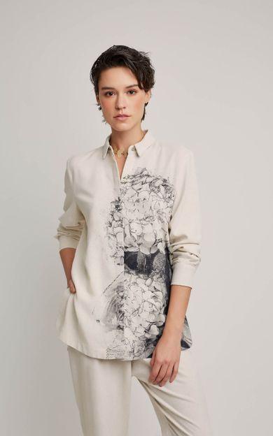 camisa-fendas-linho-hortensia-tamanho-PP-Frente